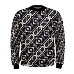 Retro Decorative Pattern Men s Sweatshirt by dflcprintsclothing
