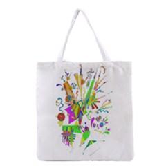 Splatter Life Grocery Tote Bag by sjart