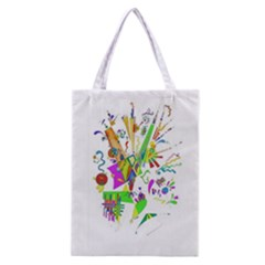 Splatter Life Classic Tote Bag by sjart