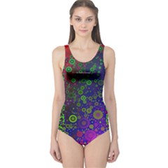 Animal Print Abstract  Women s One Piece Swimsuit by OCDesignss