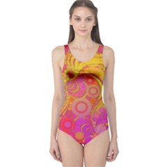 Super Bright Abstract Women s One Piece Swimsuit by OCDesignss