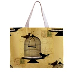 Victorian Birdcage Tiny Tote Bag by boho
