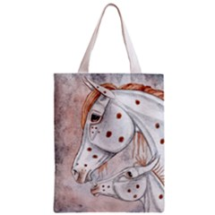 New Life Zipper Classic Tote Bag by SuzysMuses