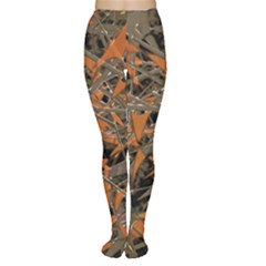 Intricate Abstract Print Tights by dflcprintsclothing