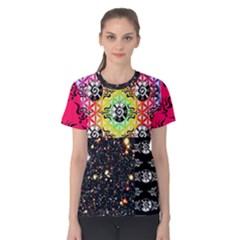 Shamanatrix Galactic Gardenia *Women s cotton t.shirt by Shamanatrix