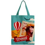 travel - Zipper Classic Tote Bag