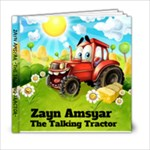tractor - 6x6 Photo Book (20 pages)