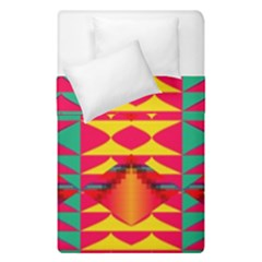 Colorful Tribal Texture  Duvet Cover (single Size) by LalyLauraFLM