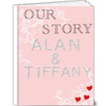 Alan & Tiffany - 9x12 Deluxe Photo Book (20 pages)