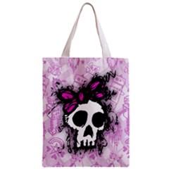 Sketched Skull Princess Classic Tote Bag by ArtistRoseanneJones
