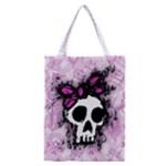 Sketched Skull Princess Classic Tote Bag