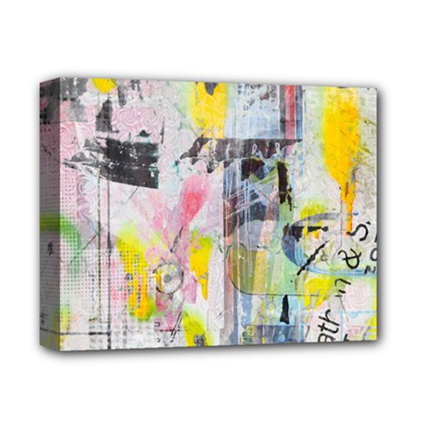 Graffiti Graphic Deluxe Canvas 14  x 11  (Framed) by ArtistRoseanneJones