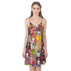 We Are Beautiful Patchwork 2 Camis Nightgown  by tiffanygholar
