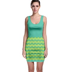 Bodycon Dress Pineapple by olgart