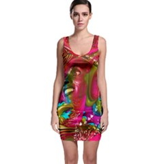 Music Festival Bodycon Dress by icarusismartdesigns