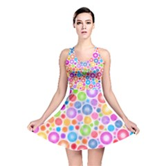 Candy Color s Circles Reversible Skater Dress by KirstenStar