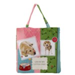 pet - Grocery Tote Bag