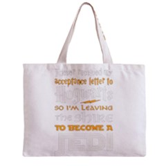 Howarts Letter Tiny Tote Bag by empyrie