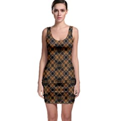 Luxury Modern Baroque Bodycon Dresses by dflcprintsclothing