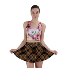Luxury Modern Baroque Mini Skirts by dflcprintsclothing