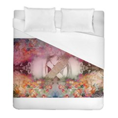 Cell Phone   Nature Forces Duvet Cover Single Side (twin Size) by infloence