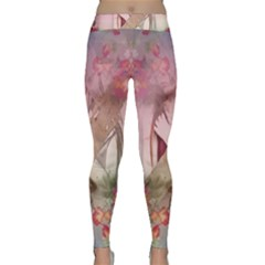 Nature And Human Forces Yoga Leggings by infloence
