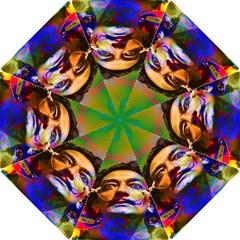 Dream Of Salvador Dali Hook Handle Umbrellas (large) by icarusismartdesigns