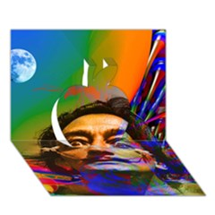 Dream Of Salvador Dali Apple 3d Greeting Card (7x5)  by icarusismartdesigns