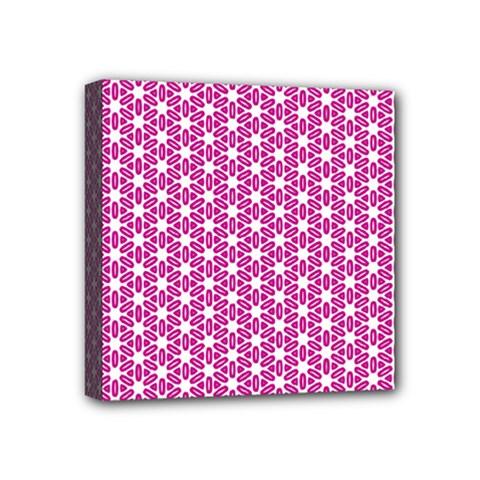 Cute Pretty Elegant Pattern Mini Canvas 4  X 4  by creativemom