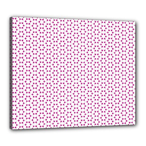 Cute Pretty Elegant Pattern Canvas 24  x 20  by creativemom
