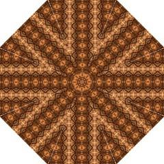 Faux Animal Print Pattern Straight Umbrellas by creativemom
