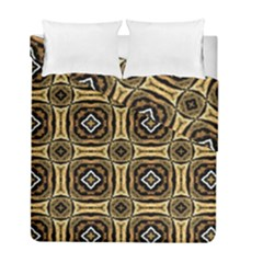 Faux Animal Print Pattern Duvet Cover (twin Size) by creativemom