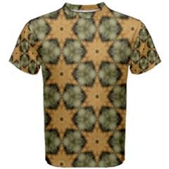 Faux Animal Print Pattern Men s Cotton Tees