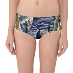 Banks Of The Seine Kpa Mid Waist Bikini Bottoms