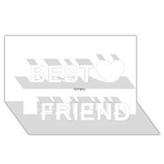 Comic Book Pop! Best Friends 3d Greeting Card (8x4)  by ComicBookPOP