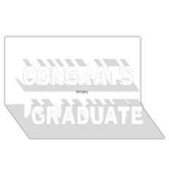 Comic Book Bang! Congrats Graduate 3d Greeting Card (8x4)  by ComicBookPOP