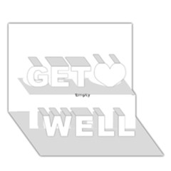 Comic Book Pow! Get Well 3d Greeting Card (7x5)  by ComicBookPOP