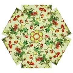 Vintage Style Floral Design Mini Folding Umbrellas by dflcprints