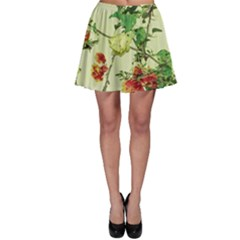 Vintage Style Floral Print Skater Skirts by dflcprintsclothing