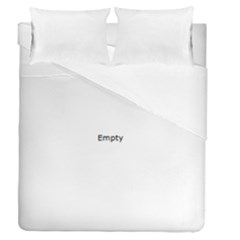 I Used To Care Duvet Cover (full/queen Size) by ScienceGeek