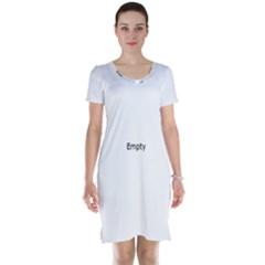 Fingerprint ID Short Sleeve Nightdresses by ScienceGeek