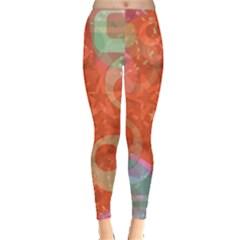 Fading Shapes Leggings by LalyLauraFLM