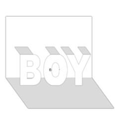 Brainstorm Boy 3d Greeting Card (7x5) by icarusismartdesigns