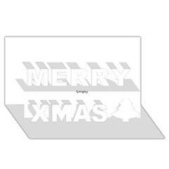 Brainstorm Merry Xmas 3d Greeting Card (8x4)  by icarusismartdesigns