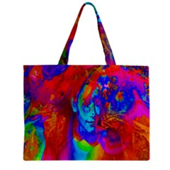 Brainstorm Zipper Tiny Tote Bags by icarusismartdesigns