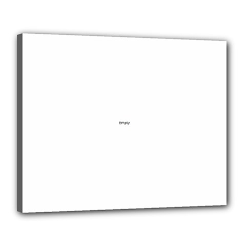 Uk City Names Flag Canvas 20  X 16  by theimagezone