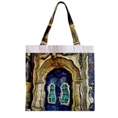 Luebeck Germany Arched Church Doorway Zipper Grocery Tote Bags