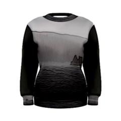 Lochranza Castle Storm Women s Sweatshirts by DeneWestUK