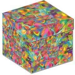 Colorful Autumn Storage Stool 12   by KirstenStar