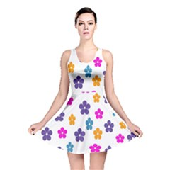 Candy Flowers Reversible Skater Dresses by FashionMeNowwStyle2